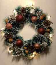 Unique Designer Handcrafted Christmas Wreath - With lights
