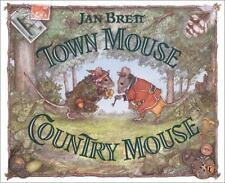 Town Mouse Country Mouse by Jan Brett c2003, NEW Paperback, We Combine Shipping