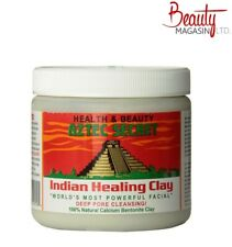 Aztec Indian Healing Clay 1lb - Calcium Bentonite Clay Natural Face Mask
