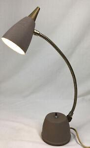 Small Vintage Mid Century Modern MCM Hi-Lite Gooseneck Desk Lamp