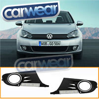VOLKSWAGEN GOLF 6 VI TSI 2009-2013 LED DRL DAY TIME RUNNING LIGHTS