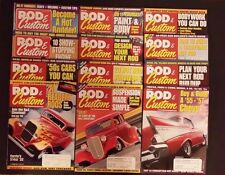 Rod & Custom Magazine 2001 - 12 Issues - How to Build A Traditional Hot Rod