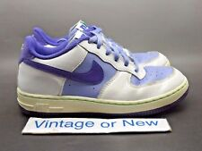 Girls Nike Air Force 1 White Mauve Purple PS 2012 sz 3Y