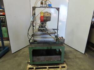 "Kalamazoo FS-350HD 480V 14"" Heavy Duty Cold Cut Chop Saw W/ Coolant Pump Ferrous"