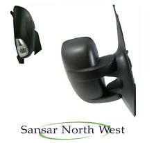 Renault Master Drivers Side Door Mirror Manual Adjustment RIGHT O/S Clear 2010>