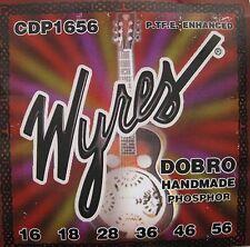 Wyres Handmade CDP1656 Teflon Coated Phosphor DOBRO Guitar Strings