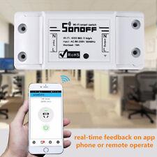 Sonoff ITEAD WiFi Wireless Intelligent Switch Module Shell ABS Socket DIY 220V