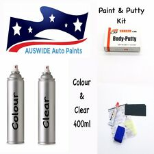 Jaguar TOUCH UP SPRAY PAINT 1AR, 2200, JBC2200, LKS + CLEAR & PUTTY KIT