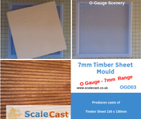 O gauge TIMBER MOULD - OGD03 -  for Model Railways in O Scale
