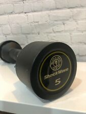 Golds Gym ShockWave 5 Pound Workout Dumbbell, Duel Use, Curling & Shake Weight