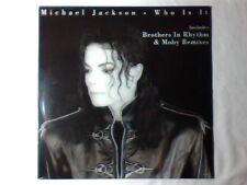 """MICHAEL JACKSON Who is it 12"""" NUOVO HOLLAND BROTHERS IN RHYTHM MOBY"""