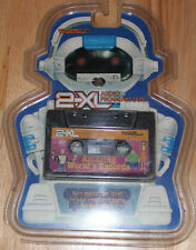 TIGER ELECTRONIC 2-XL TALKING ROBOT CASS TAPE PLAYER TOY AMAZING WORLD'S RECORDS