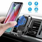 Wireless quick Charging Car Phone Holder mount car phone power charger Air vent