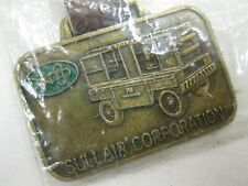 Sullair Corporation The Sulliscrew Watch Fob Nos Vintage Advertising Free Ship