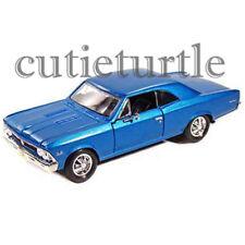 Maisto 1966 Chevrolet Chevelle SS 396 1:24 Diecast Model Car 31960 Blue