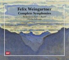 Felix Weingartner: Complete Symphonies, New Music