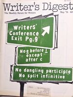 Writer's Digest Magazine Writer's Conference May 1974 100517NONRH2