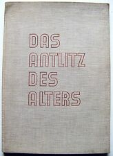1930 1st German Edition DAS ANTLITZ DES ALTERS (THE FACE OF AGE) Photo Book