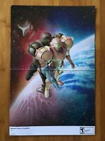 2007 Official Metroid Prime 3: Corruption / Mario Strikers Charged Wii Poster