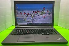 "Lenovo T540P 15.6"" Intel i7-4600M 2.90 GHz 8 Gb Ram 500 Gb HDD Win10 Pro"