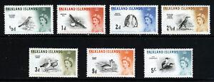 FALKLAND ISLANDS QE II 1960-66 Part Set to 5 Shillings SG 193 to SG 205 MINT