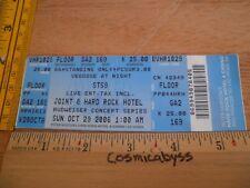 Sound Tribe Sector 9 STS9 2006 Konzert Tour Full Ticket Original