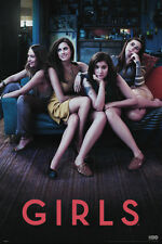 GIRLS Poster - Cast TV Full Size 24x36 Print ~ Lena Dunham Allison Williams
