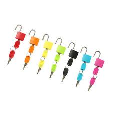 7 x Vorhängeschloss Schlösser mit 14 Schlüsseln, Montessori Farbspiel für
