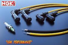 Kawasaki Vulcan VN 750 Spark Plug Wires Cables, Black, VN750