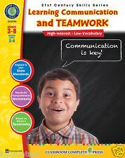 21st Century Skills - Learning Communication & Teamwork, Gr.3-8 - DOWNLOAD