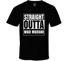 Straight Outta Wad Madani Sudan Compton Parody Grunge City T Shirt