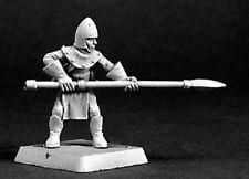 Mercenary Spearman Reaper Miniatures Warlord Fighter Warrior Polearm Melee Spear