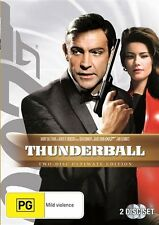 Thunderball (1965) Sean Connery - NEW DVD - Region 4