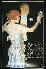 Mini Tin Sign  Arrow Shirts