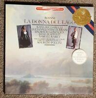 Rossini La Donna Del Lago LP Chamber Orchestra of Europe Pollini 1984 new sealed