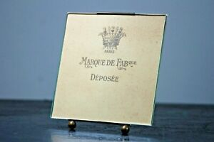 Antique photo frame genuine French gilt metal table top or wall hanging #07