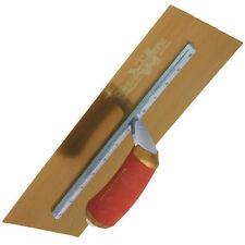 "marshalltown gold stainless steel blade permashape trowel MPB165GSD 16""X5"""
