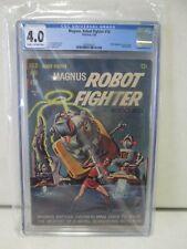 Gold Key Magnus Robot Fighter #10 CGC 4.0