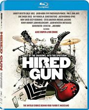 Hired Gun: Vocalists + Composers + On Tour Music Documentary Box/BluRay Set NEW!