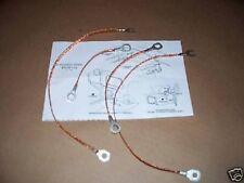 ground strap set 69 Chevy Camaro Nova 307 350 396 302