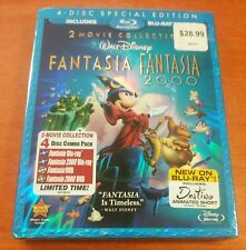 Fantasia & Fantasia 2000 Blu-ray 2 Movie Collection Walt Disney Studios