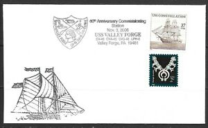 2006 USA cover 60th anniversary of Commissioning Station dated 6 November 2006