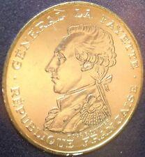 BU Encapsuled France 1987 Lafayette 100 Francs Silver Piedfort With COA~Free Shi