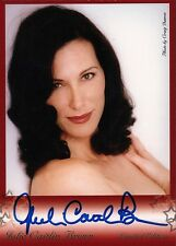 Babylon 5 Star Trek Julie Caitlin Brown Photo Trading Card Autographed Signed