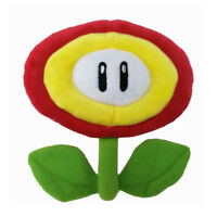 Super Mario Bros Fire Flower Plush Doll Figure Stuffed Toy 8 inch Xmas Gift