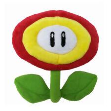 Super Mario Bros Fire Flower  Plush Doll Figure Stuffed Toy 8 inch Xmas Gift