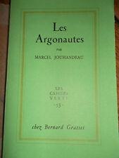 JOUHANDEAU (Marcel). Les Argonautes.   EO sur Alfa