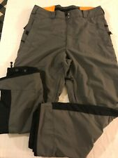 Columbia Convert Mens Lg Gray Ski Snowboard Pants TS9