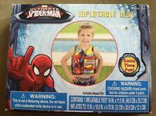 Ultimate Spiderman Inflatable Vest by Marvel Repair Kit pool swim toy