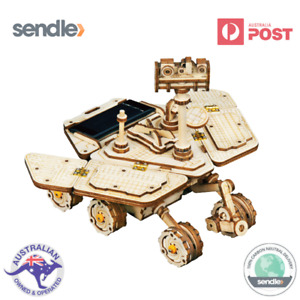 ROKR 3D Wooden Laser Cut Puzzle Vagabond Mars Rover Gift For Space Enthusiasts